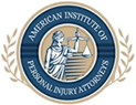 American Institute of Personal Injury Attorneys Badge