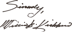 William D. Kickham's Signature